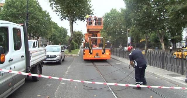 Tramvay arızası giderildi, seferler normale döndü