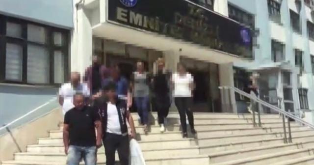 104 kişiyi dolandıran şüphelileri Denizli'de yakalandı