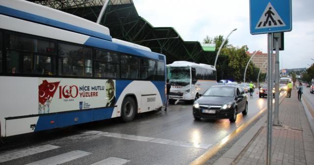 Ankara'da otobüs kazası: 8 yaralı