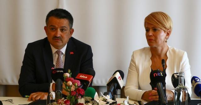 """Bakan Pakdemrli: """"Türkiye, tarım alanında Avrupa'nın en iyi beş ülkesinden biri"""""""