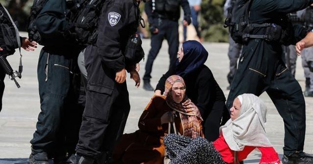 İsrail'in Mescid-i Aksa'ya saldırıları devam ediyor: 61 yaralı