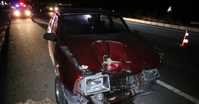 Kayseri'de iki otomobil çarpıştı: 10 yaralı
