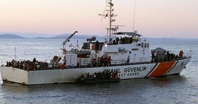 Sahil güvenlik botları 149 mülteciyi kurtardı