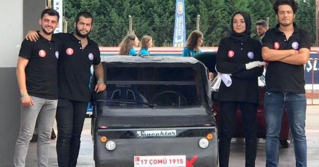 'Sancaktar' TEKNOFEST'te Çanakkale'yi temsil etti