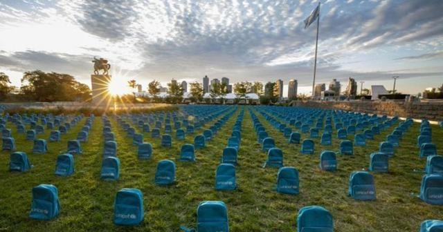 3 bin 758 okul çantası mezar oldu