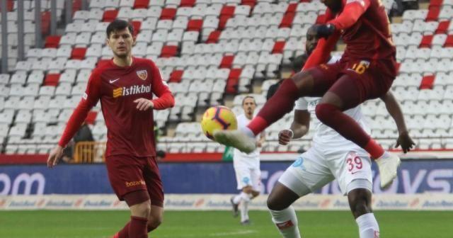 Antalyaspor ile Kayserispor 23. randevuda