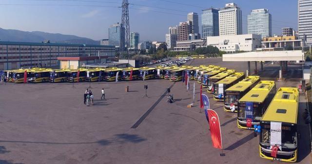 Bursa'da 1440 otobüse güvenlik kamerası ve online takip geliyor