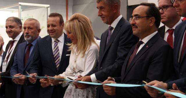 Çekya Başbakanı Babis gıda fuarının açılışını yaptı