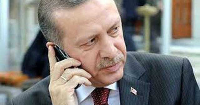 Cumhurbaşkanı Erdoğan'dan Şaziye Erdoğan'a tebrik telefonu