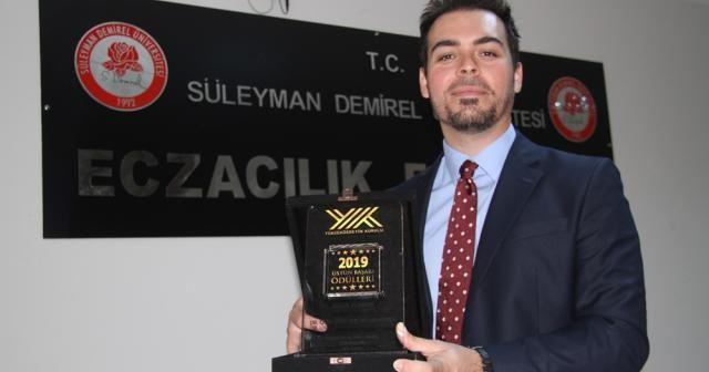 Doktora teziyle Cumhurbaşkanı Erdoğan'dan 'YÖK Üstün Başarı Ödülü' aldı