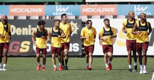 Galatasaray, Club Brugge hazırlıklarına başladı