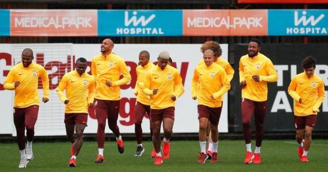 Galatasaray, Yeni Malatyaspor maçının hazırlıklarını sürdürdü