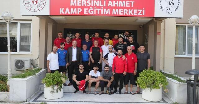 Grekoromen milli takımı Kazakistan yolcusu