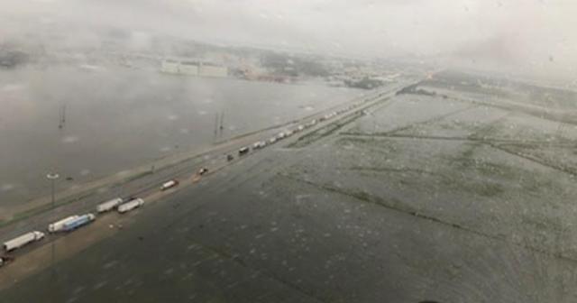 Imelda tropikal fırtınası Teksas'ı vurdu: 2 ölü