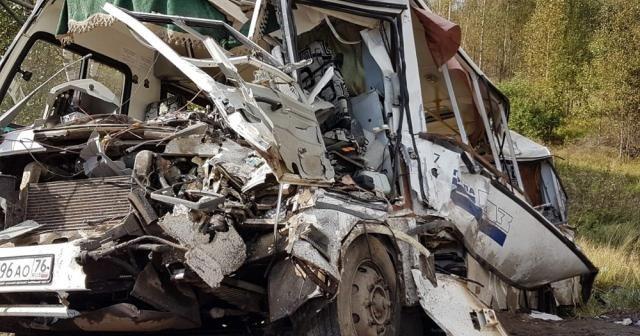 Rusya'da feci kaza: 9 ölü, 28 yaralı