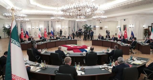 Türkiye-Rusya-İran Üçlü Liderler Zirvesi (2)