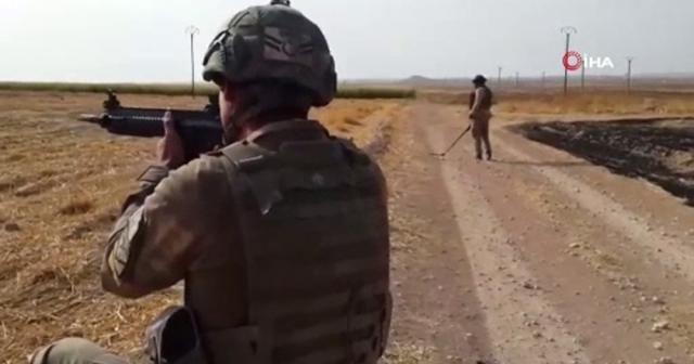 """""""Barış Pınarı"""" bölgesinde mayınlar ve EYP'ler imha ediliyor"""