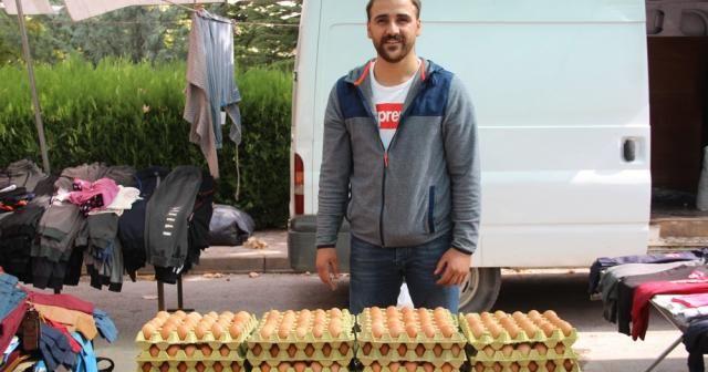 28 madalyalı şampiyon üniversiteyi bitirdi, yumurta satarak ailesine destek oluyor