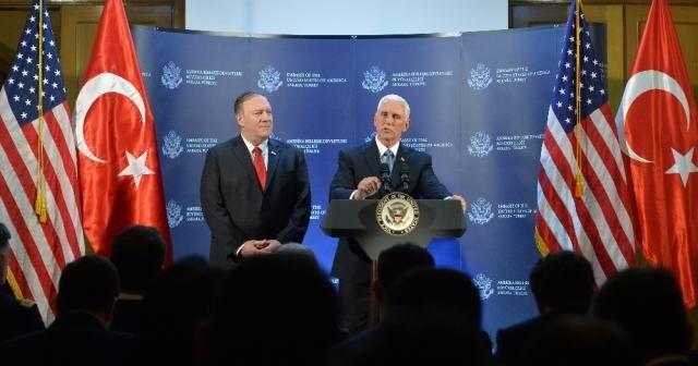 """ABD Başkan Yardımcısı Pence: """"ABD ile Türkiye, Suriye'de bir ateşkes konusunda anlaşmaya vardı"""""""