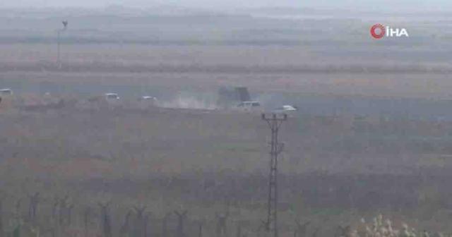 AFAD ve askeri yetkililer Suriye sınırında incelemede bulundu