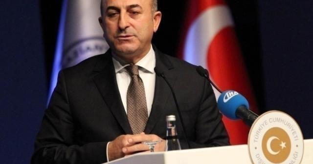 """Bakan Çavuşoğlu: """"Sahada da masada da güçlü Türkiye'yiz hamd olsun"""""""