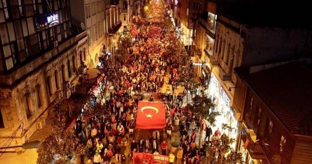 Binler Barış Pınarı Harekatı için yürüdü