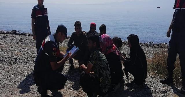 Çanakkale'de 1 haftada bin 134 mülteci yakalandı