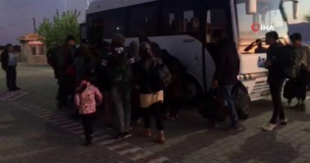 Çanakkale'de 57 mülteci yakalandı
