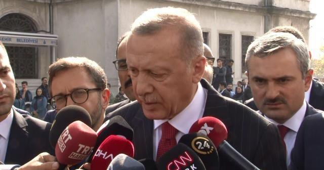 Cumhurbaşkanı Erdoğan: 'Bizimkiler orada kalacak'