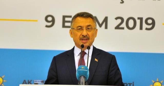 Cumhurbaşkanı Yardımcısı Fuat Oktay operasyonla ilgili konuştu