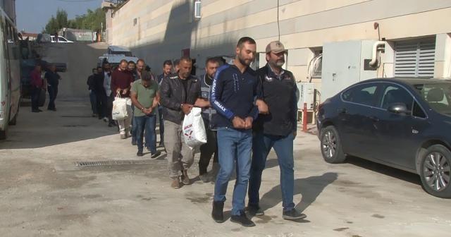 Elazığ'da PKK/KCK operasyonu: 11 şüpheli adliyeye sevk edildi
