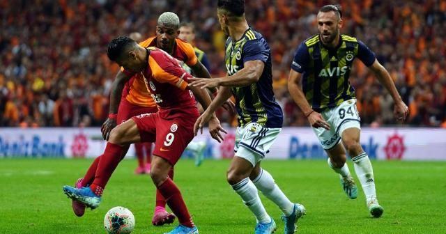 Galatasaray -Fenerbahçe derbisi yeni bir rekora imza attı