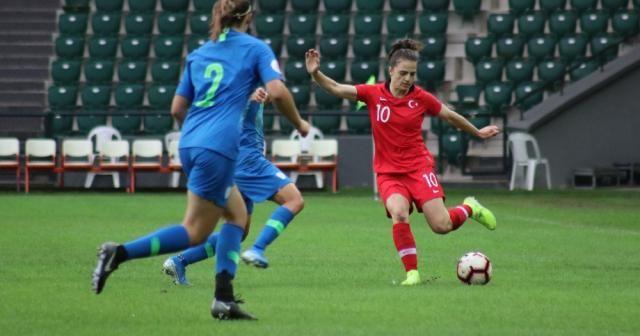 Kadınlar Avrupa Futbol Şampiyonası: Türkiye: 1 - Slovenya: 6 (Maç sonucu)