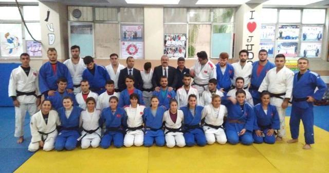 Milli judocular Avrupa Şampiyonasına hazır
