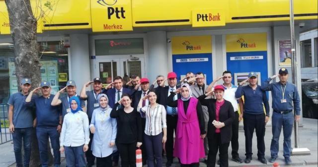 PTT'den Mehmetçik'e asker selamı