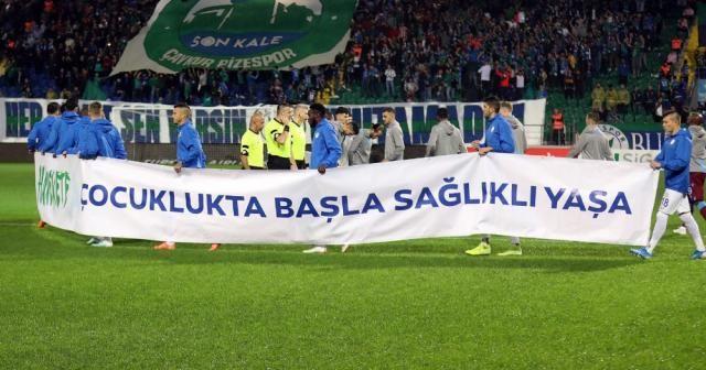 Süper Lig ekipleri obeziteye dikkat çekti