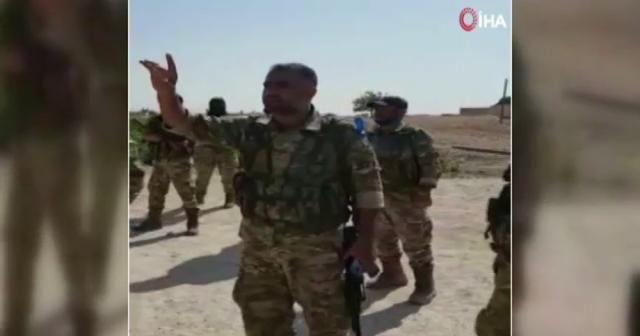 """Suriye Milli Ordusu'ndan Tel Abyad sakinlerine: """"Sizi korumaya geldik"""""""