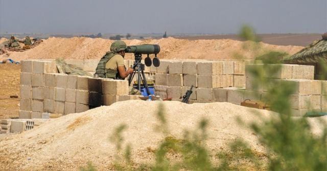 Türk ordusu terör örgütünün geri çekilmesini an be an takip ediyor