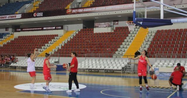 A Milliler Litvanya maçı hazırlıklarını sürdürüyor