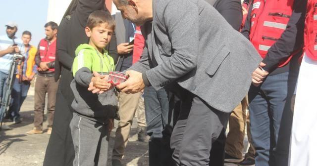 AFAD'dan 112 Suriyeli aileye İdlib'de konut