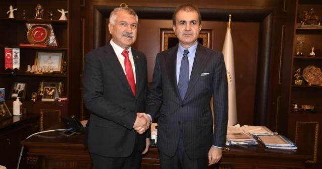 Çelik'ten Adana Büyükşehir Belediyesine ziyaret