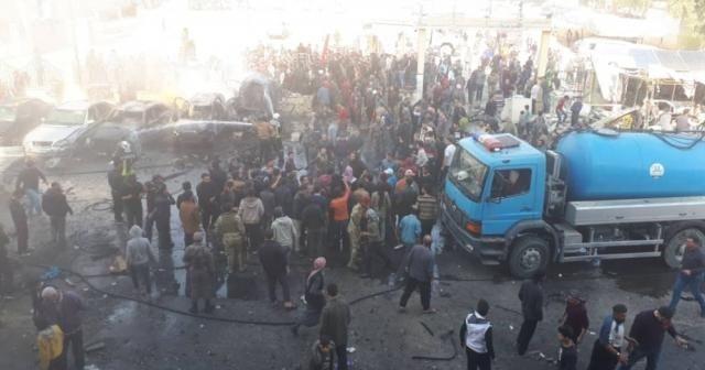 El Bab'ta patlama: 18 ölü