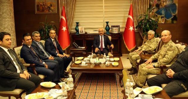 İçişleri Bakanı Yardımcısı Ersoy ve Jandarma Genel Komutanı Çetin Bitlis'te