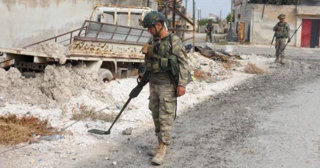 """MSB: """"Barış Pınarı Harekat bölgesinde 988 EYP ve 442 mayın tespit edilerek etkisiz hale getirildi"""""""
