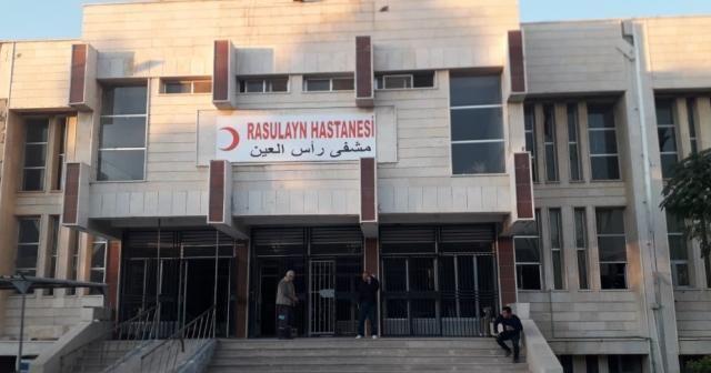 Rasulayn Hastanesi patlayıcı tuzaklarından temizlendi