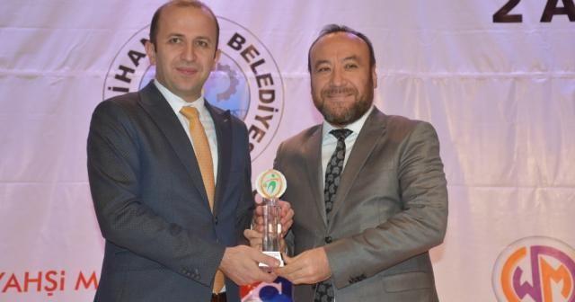 İHA muhabirine 'Yılın Medya İnsanı' ödülü