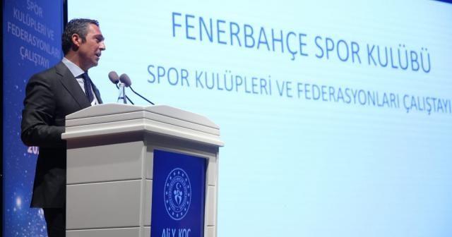 Ali Koç'tan Türk futbolunun sorunları ve çözüm önerileri