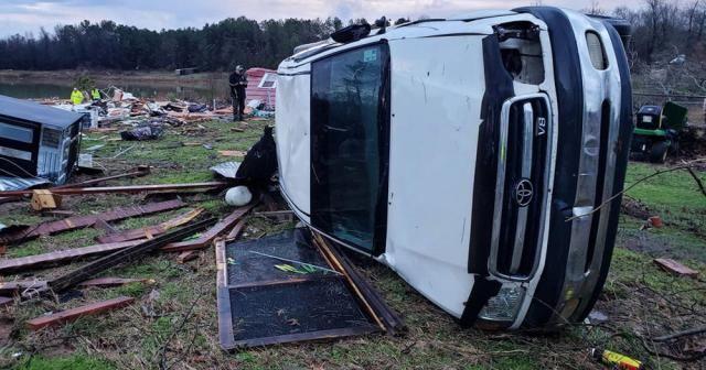 ABD'de etkili olan fırtına ve kasırga nedeniyle ölü sayısı 11'e yükseldi