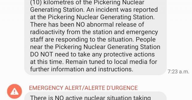 Kanada'da nükleer santralde kaza