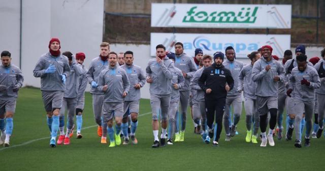 Trabzonspor, Denizlispor maçı hazırlıklarına başladı